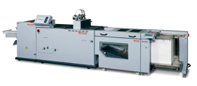 New Standard Horizon SPF-200L Bookletmaker with HOF-400 Feeder